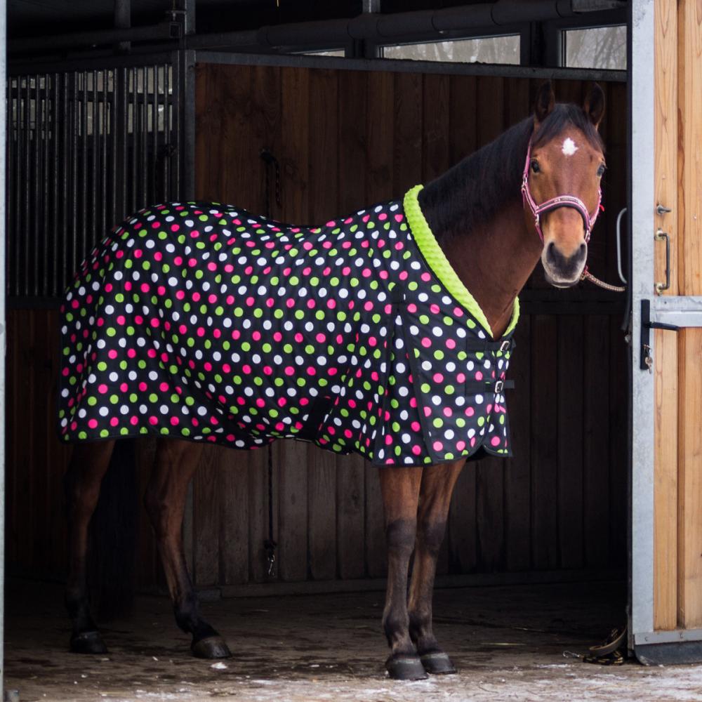 Univerzální stájová deka pro koně Horsea Pattern