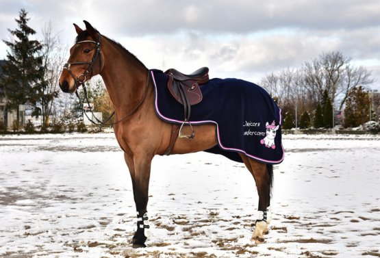 Bederní deka Horsea Unicorn fleece