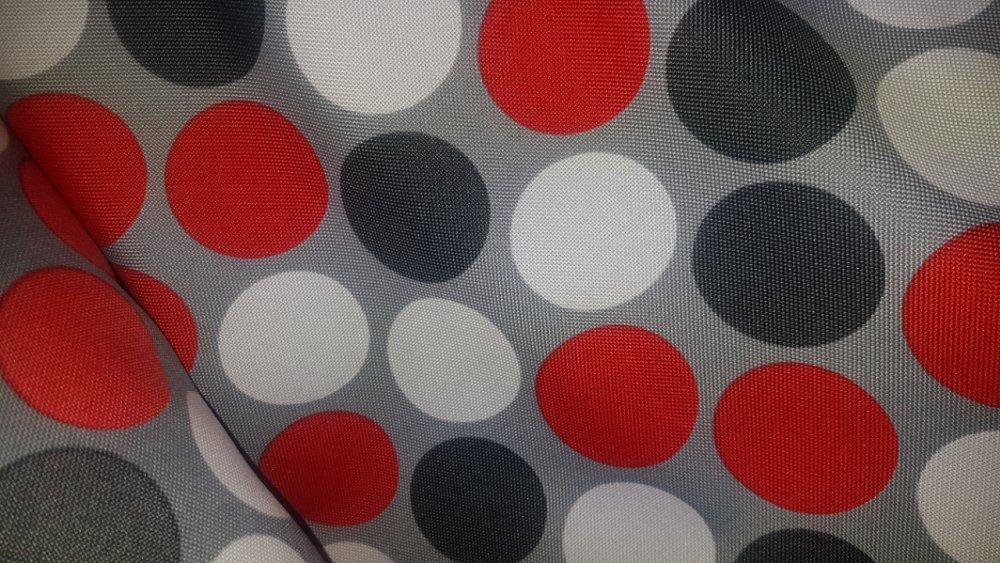 Vzor polyestrové tkaniny